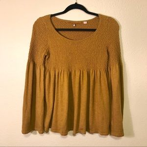 Anthropologie top tunic